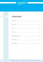 Bewerbung Anlagenübersicht Muster Vorlage 2