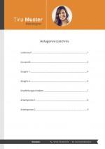 Bewerbung Anlagenübersicht Muster Vorlage 4