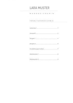 Anlagenverzeichnis Vorlage 10