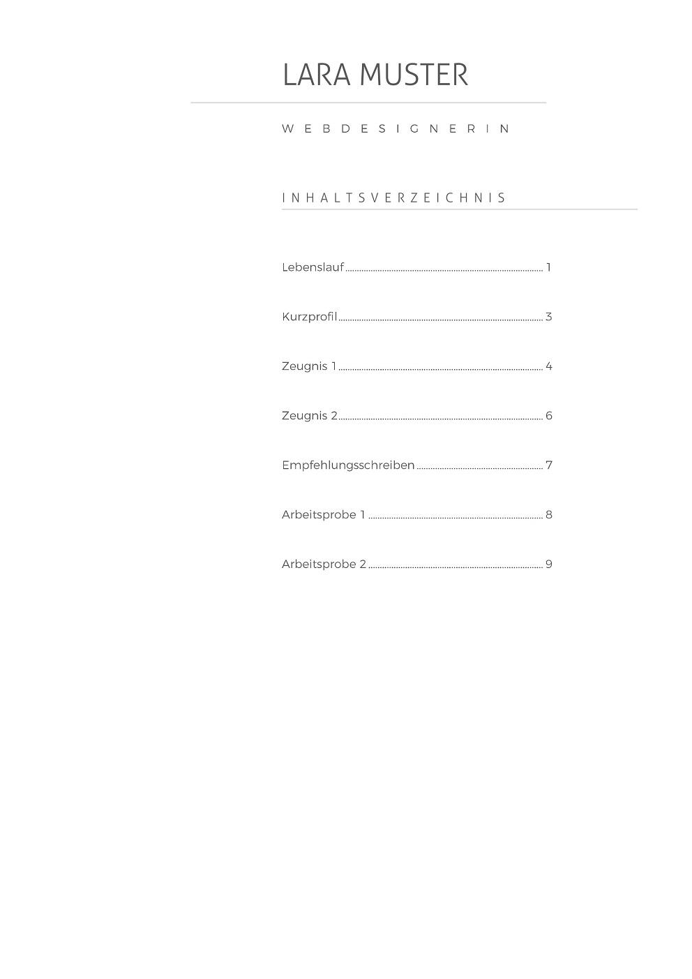 Premium Bewerbungsmuster 10 | lebenslaufdesigns.de