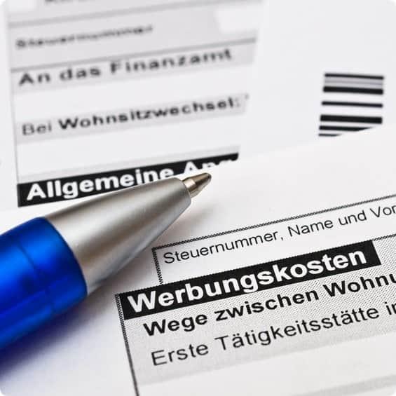 Bewerbungskosten von der Steuer absetzen