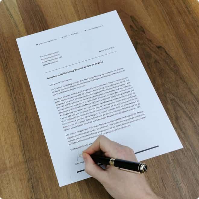 Bewerbungsschreiben Muster Beispiele Vorlagen Fürs Anschreiben
