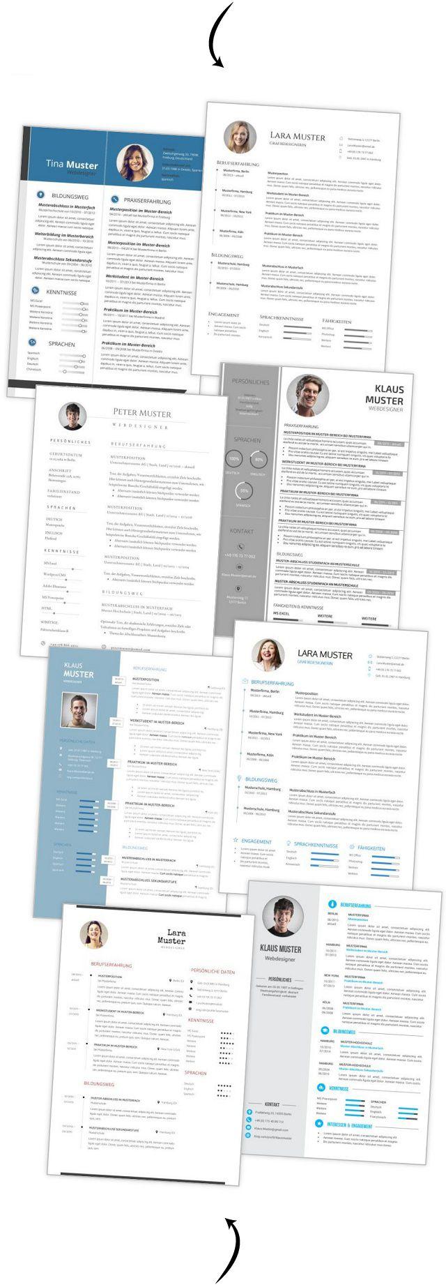 77 Lebenslauf Muster Und Vorlagen Für 2019 Lebenslaufdesignsde