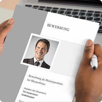 deckblatt muster vorlagen fr die bewerbung - Design Bewerbung