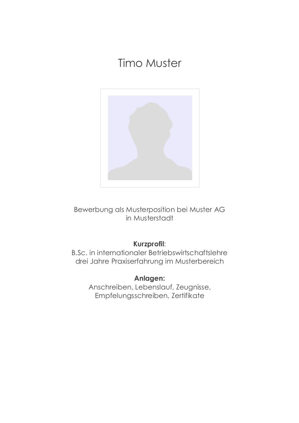 Bewerbungsmuster Für Publisher Lebenslauf Designs