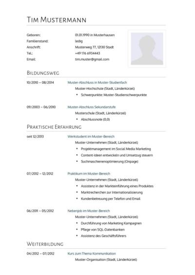 Lebenslauf Kenntnisse In Edv It Und Sprachen Angeben