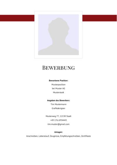 Deckblatt Vorlage Akademisch Kostenloser Download