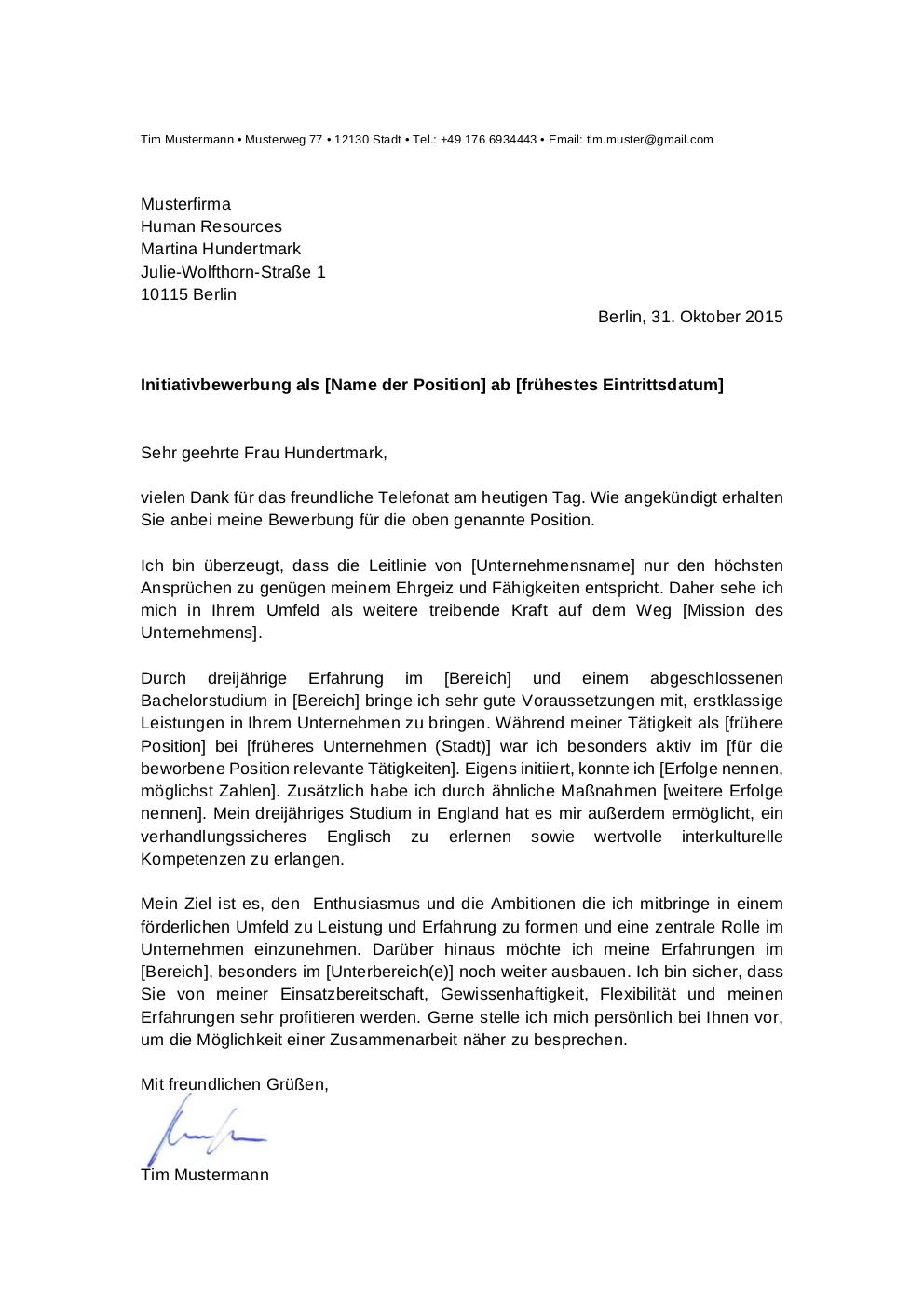 Initiativbewerbung: Muster für LKW Fahrer | lebenslaufdesigns.de