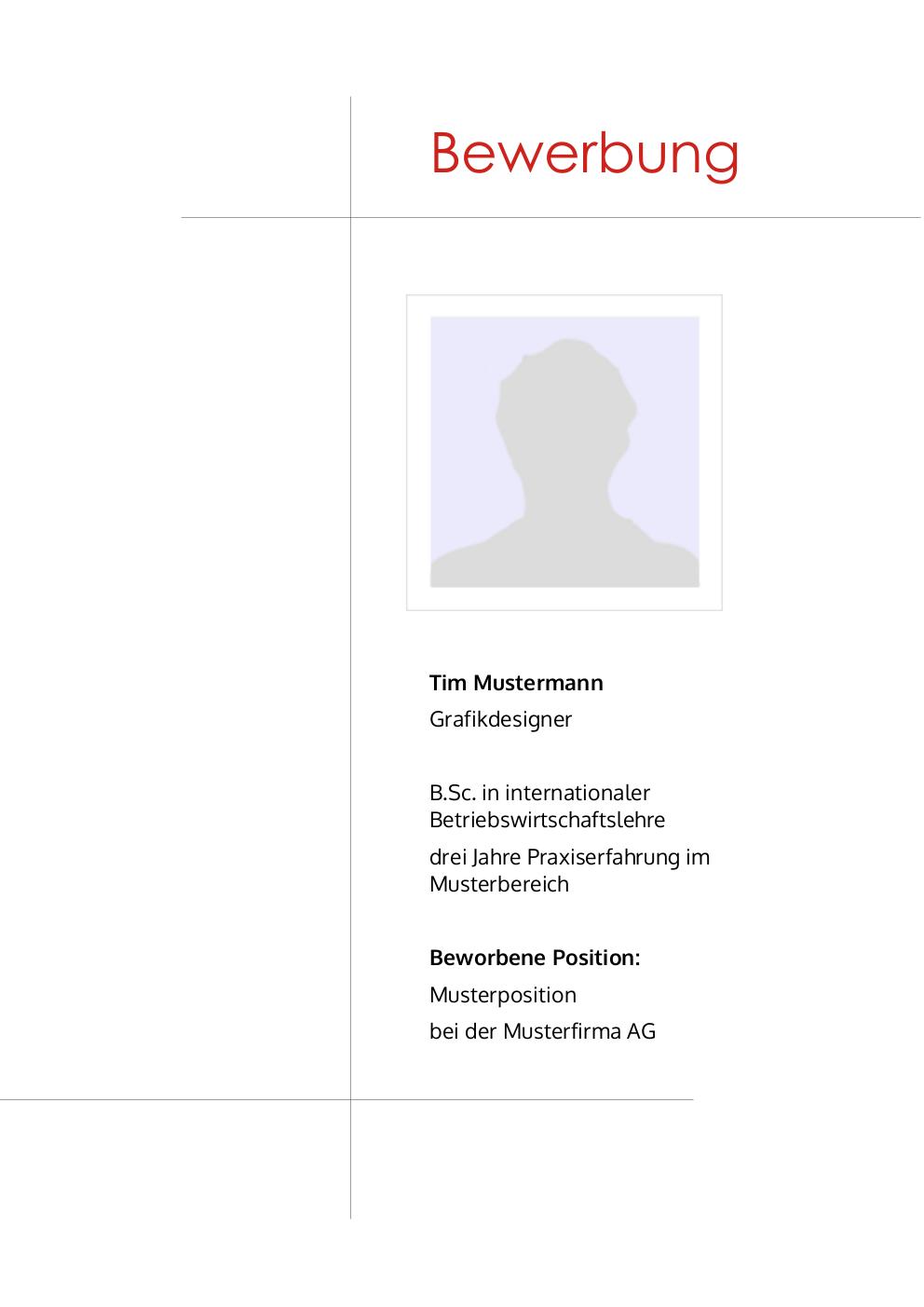 initiativbewerbung  muster f u00fcr redakteur