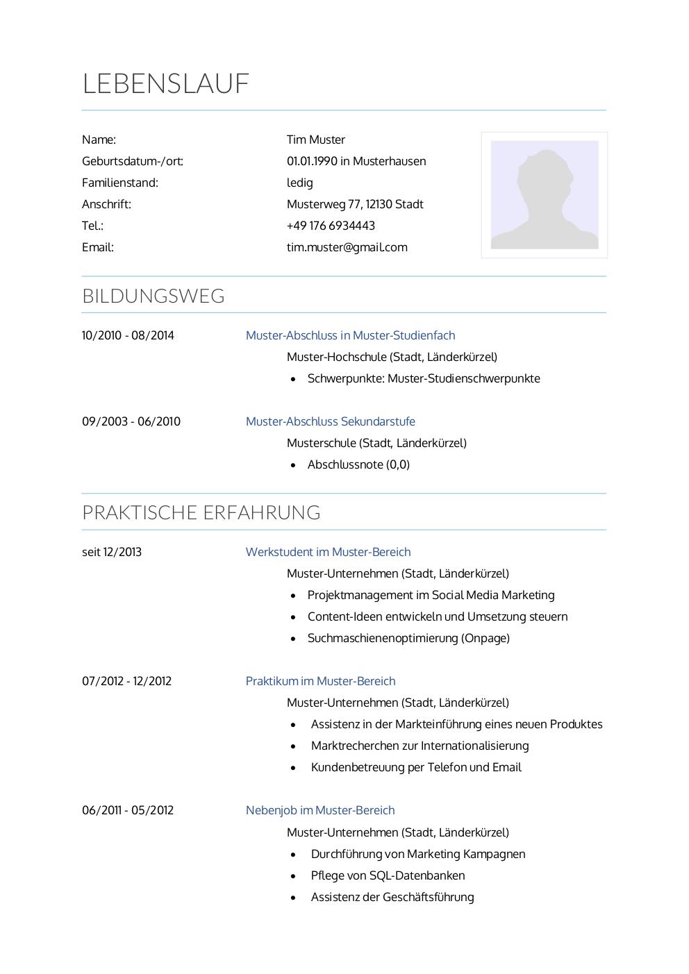 Initiativbewerbung Muster Für Krankenpfleger