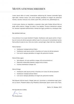 initiativbewerbung motivationsschreiben 23