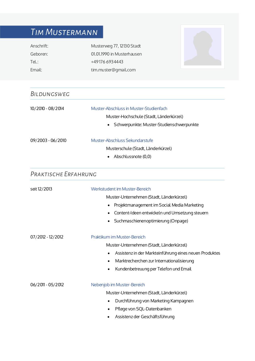 Bewerbung: Deckblatt Muster Vorlage 22   Lebenslauf Designs