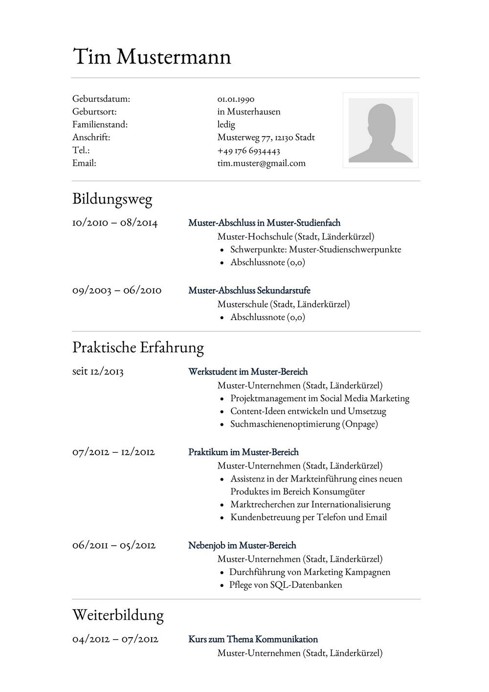 Tolle Anwalt Lebenslauf Vorlage Fotos - Entry Level Resume Vorlagen ...