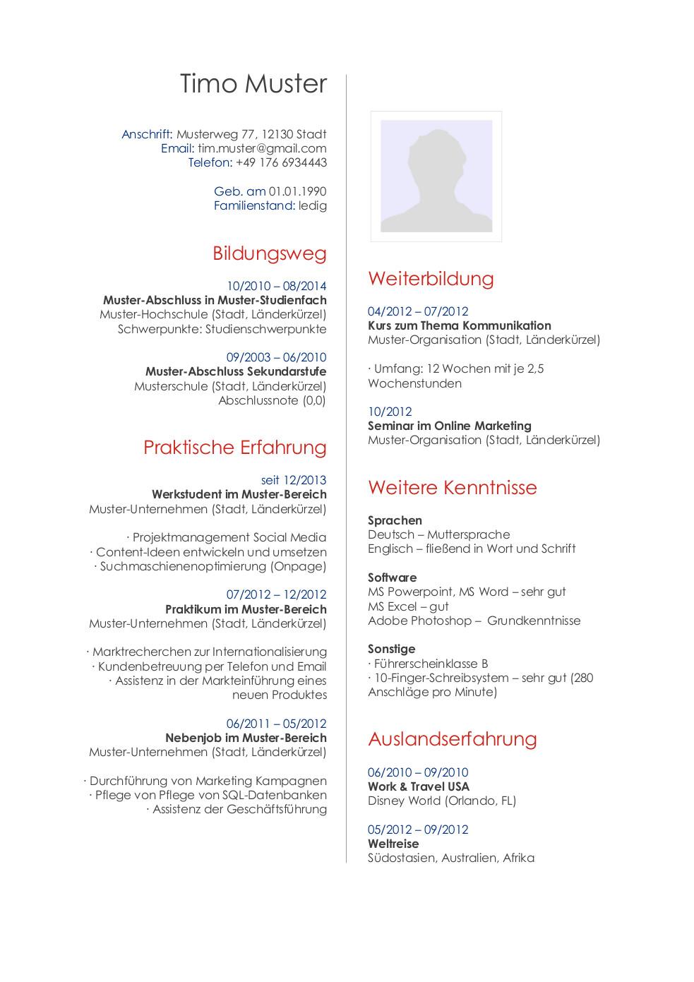 Bewerbungsmuster für Publisher | Lebenslauf Designs
