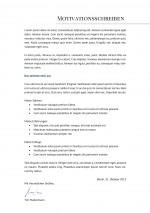 Bewerbung: Deckblatt Muster Vorlage 17 | Lebenslauf Designs