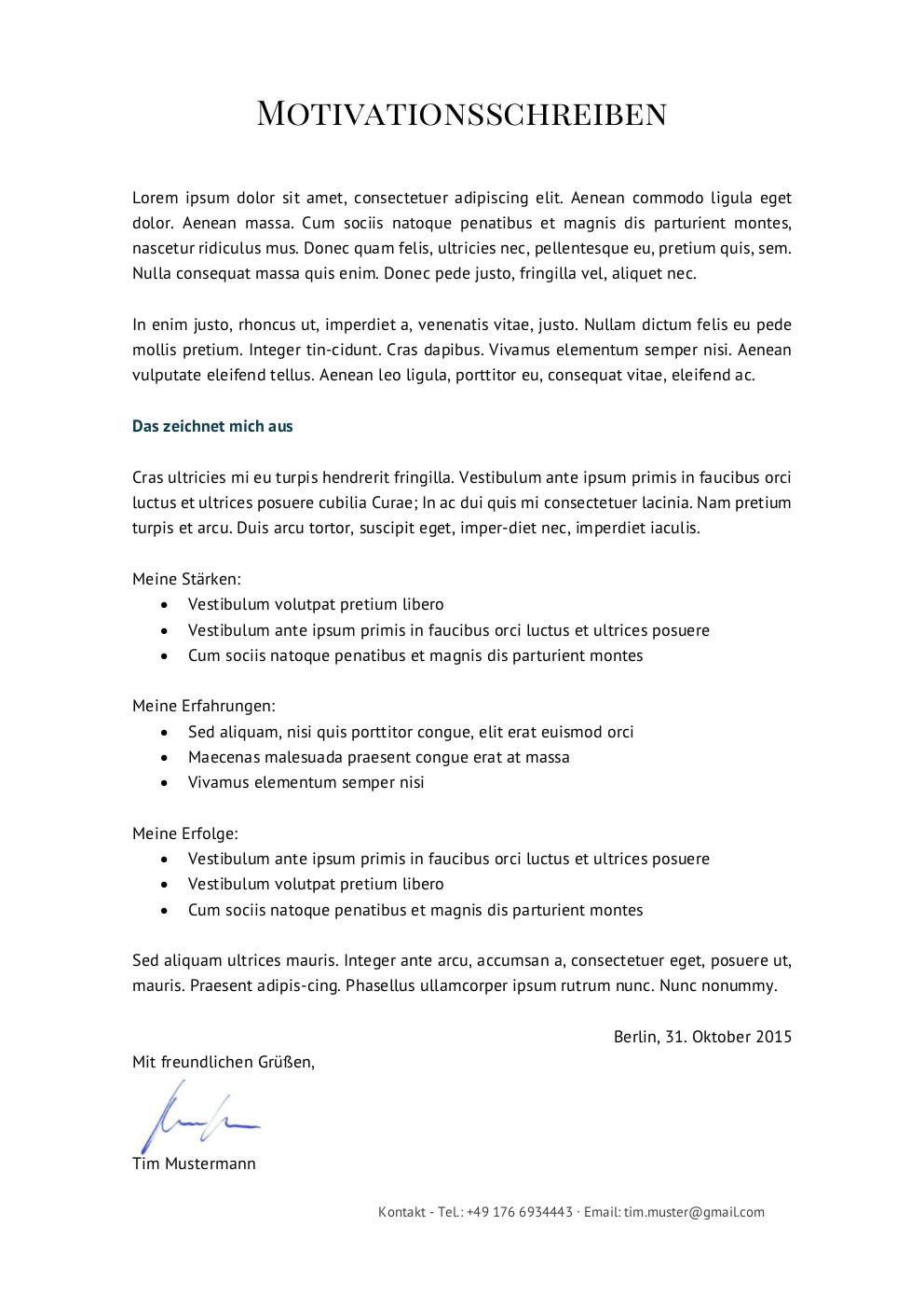 Bewerbungsmuster Finanzberater | Lebenslauf Designs