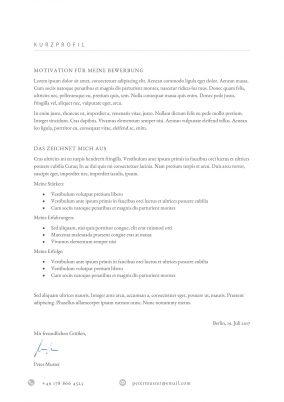 Motivationsschreiben Vorlage 11