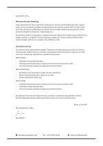 Motivationsschreiben Vorlage 2