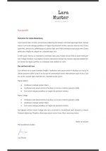 Motivationsschreiben Vorlage 5